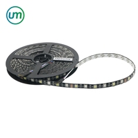 DC12V Flexible IP65 Waterproof 5050 RGBW LED Strip 300led Color Changeable Lighting Black PCB
