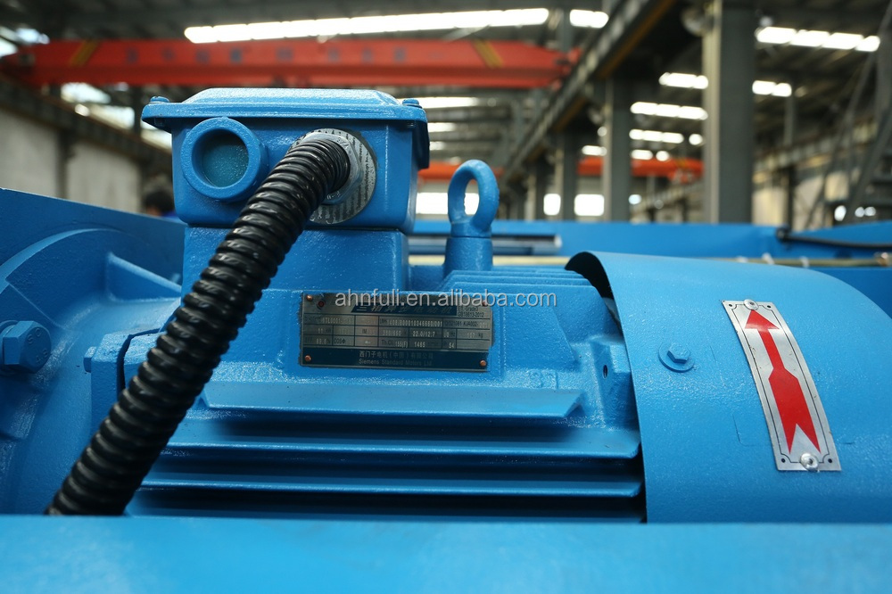 QC12Y-4*3200 hydraulic shearing machine, CNC shearing machine, swing beam shearing machine