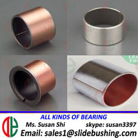 du bushing stainless steel self lubricating ptfe coated bushing dp4 bush du bearing teflon bushing