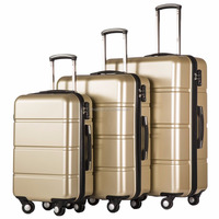 3 Piece Luggage Set3 Piece Trolley