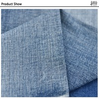 mercerized pattern denim fabric,cotton/mercerized denim fabric