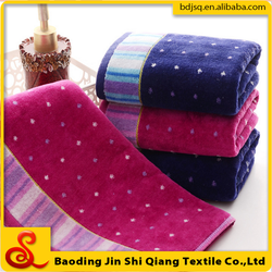 gao yang Gold no.Factory direct sale Super-absorbent cut-pile hand towel