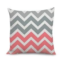 100% Cotton Washable Heated Chevron Pillow Cases
