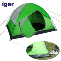 OEM Luxury Waterproof Ultra Light Backpacking Compact 2 Person Large Family Automatic Camping Hiking Outdoor Beach Tent