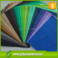 Plain dyed Diamond dot style polypropylene nonwoven geotextile fabric waterproof,customize different color non woven fabric pric