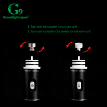 glass bubbler replacement g9 henail with 3nails travel case pack
