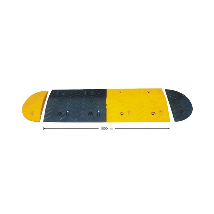 24 Hours Feedback Colorful Customized rubber speed hump