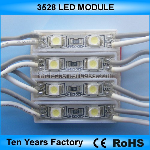 Hot-sale 2 chips waterproof 3528 led smd module