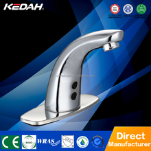 Contemporary design hot sale deck mounted automatic shut off basin faucet KD-116D/AD