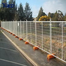 Hengshui cheap1.8mm 2mm height prefab temporary fence panels folding fence movable fence