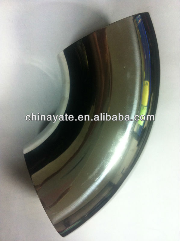 Stainless Steel Sanitary Welding Elbow, SS316, SCH10 SCH40