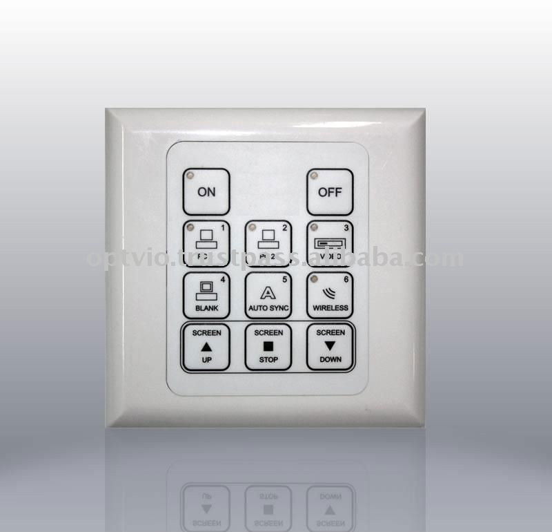 Projector Control Panel