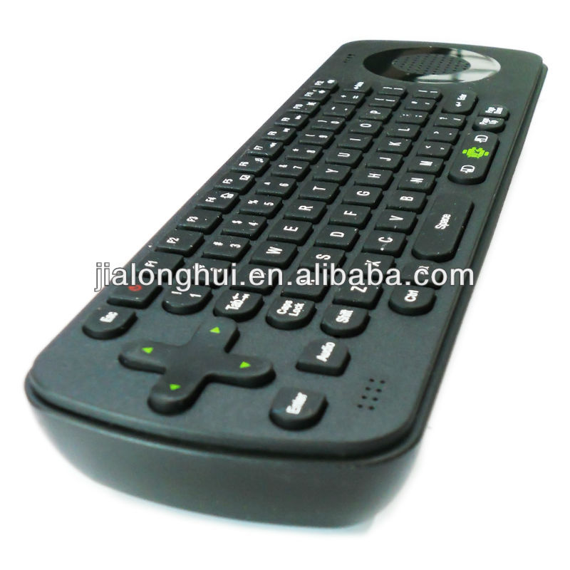 .4G Wireless keyboard fly air Mouse RC13 with Speaker and Microphone