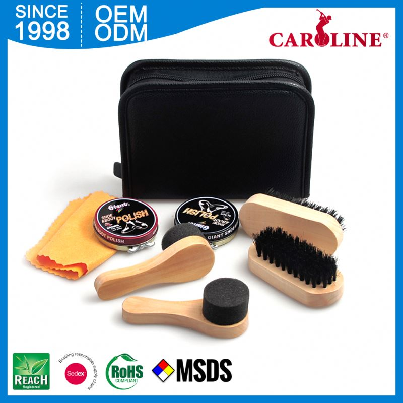 Hot Sale Shoe Shine Polish Set Cleaning Kit