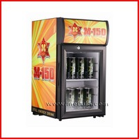21L bar table cooler, top display cooler