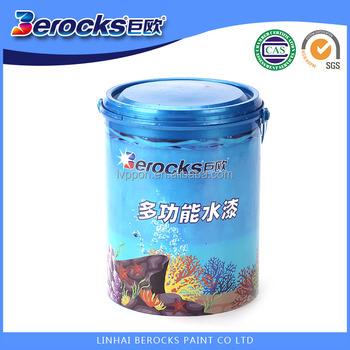 Non-toxic made by Natural Material BEROCKS Water based Paint