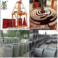 SY1000 rain water drain culvert tube forming production line