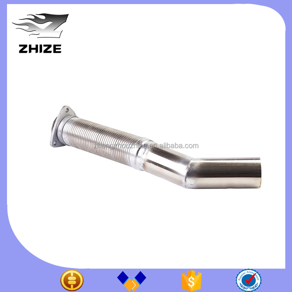 Bus engine part stainless steel Exhaust pipe bellows for Yutong