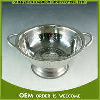 popular metal fruit colander with stand JWB-01