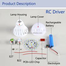 Epistar Led Emergency Usb Charging Light Bulb SKD CKD Spare Part Product for India Market