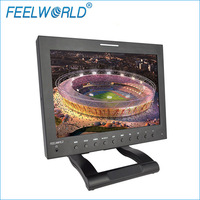 "FEELWORLD 12.1"" 16:9 1280*800 high definition lcd display HDMI/Component/Compositeeo/Audio inputs 3G-SDI Broadcast Monitor"