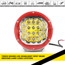 car accessories 12V 24V led driving lamp LED Reflective cup+ lens 90w led driving light for jeep,auto parts,atvs