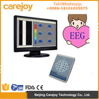New 16 /18 Channel Digital EEG mapping system brain waves device electroencephalo-graph electroencephalogram by CE approved