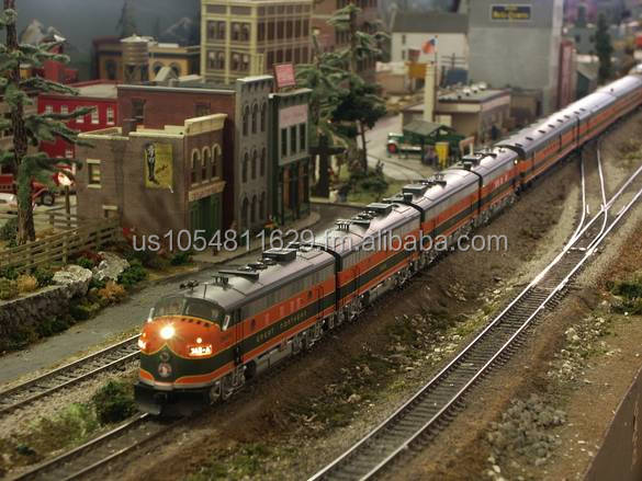 Ho, N, G Scale train layout model