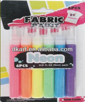 New Arrival Artist Material Neon fabric paint