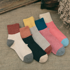 Cozy men women ankle fuzzy socks warm in winter