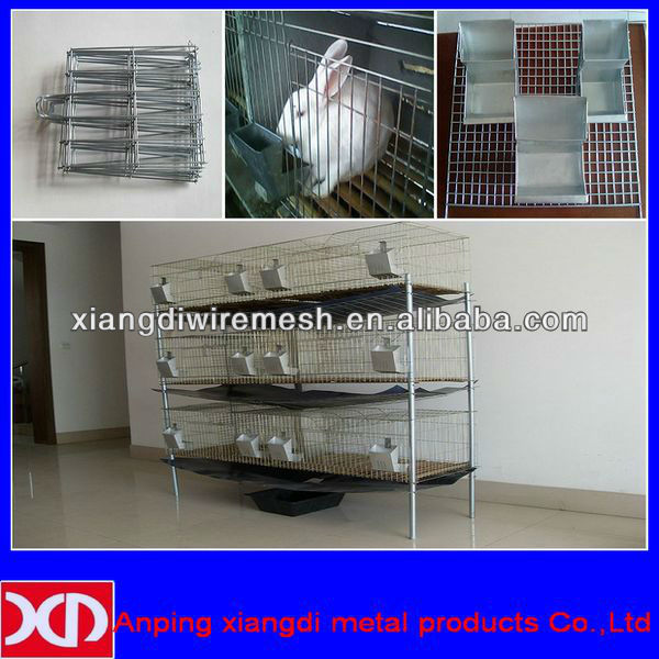 welded wire mesh cheap rabbit cage (factory)