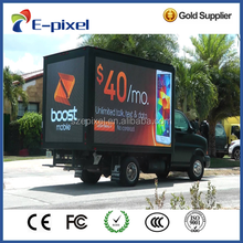 Factory P6 outdoor truck mobile advertising led display screen