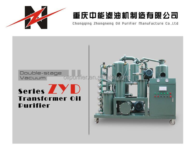 High Vaccum Dehydration for Transformer Oil Solution, High Vacuum Insulation Oil Treatment Machine/Transformer Oil Filter Unit