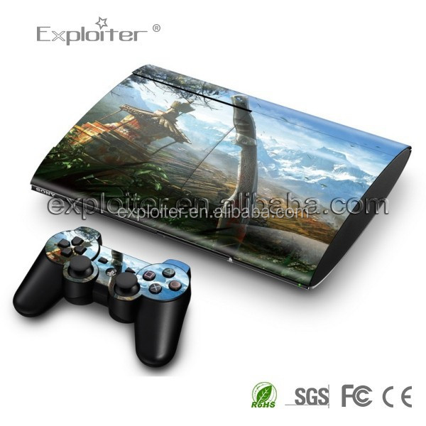 Durable hot selling sticker for ps3 accessory console