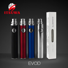 rechargeable electronic cigarette evod battery China factory wholesale evod