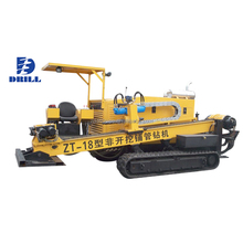 power 110KW Geological Horizontal Directional Drilling Rig Machine