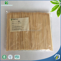 Convenient super sanitary and cheap Disposable bamboo sticks with different sizes for barbecue