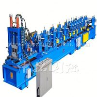 China Supplier Automatic Metal C Z Channel Cold Rolling Machinery C and Z Purlin Frame Form Machine