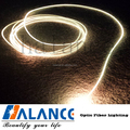 solid side glow fiber for swimming pool lights