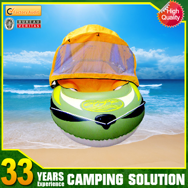 4 Persons Mini Inflatable Boat with Sail