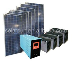 5000w solar energy system for off grid