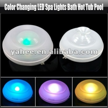Color Changing LED Spa Lights Bath Hot Tub Pool, YFK167A
