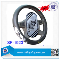 Best sale three wheel covered motorcycle car steering wheel covers from factory