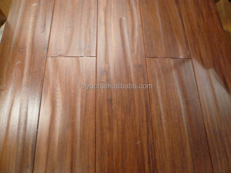 Handscraped Strand Woven Harvest Click Engineered Bamboo Flooring/CHOHO/CE