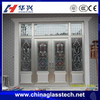 Australia standard aluminum alloy frame no deformation heat resistant bullet proof security door