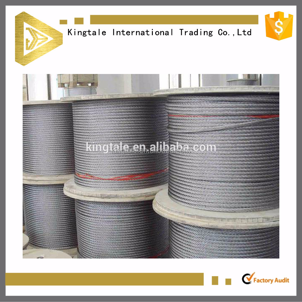 6x36+fc china cheap price stainless steel wire manufacturer