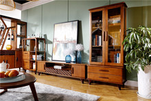 Modern TV Showcase Cabinet Designs with Showcase for Living Room Furniture