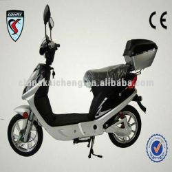 Electric Aluminum Wheel Motorbike with EEC and COC approval from LOHAS KCES048 with New 400W power