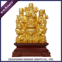 Top selling resin Chinese god of fortune fengshui statue