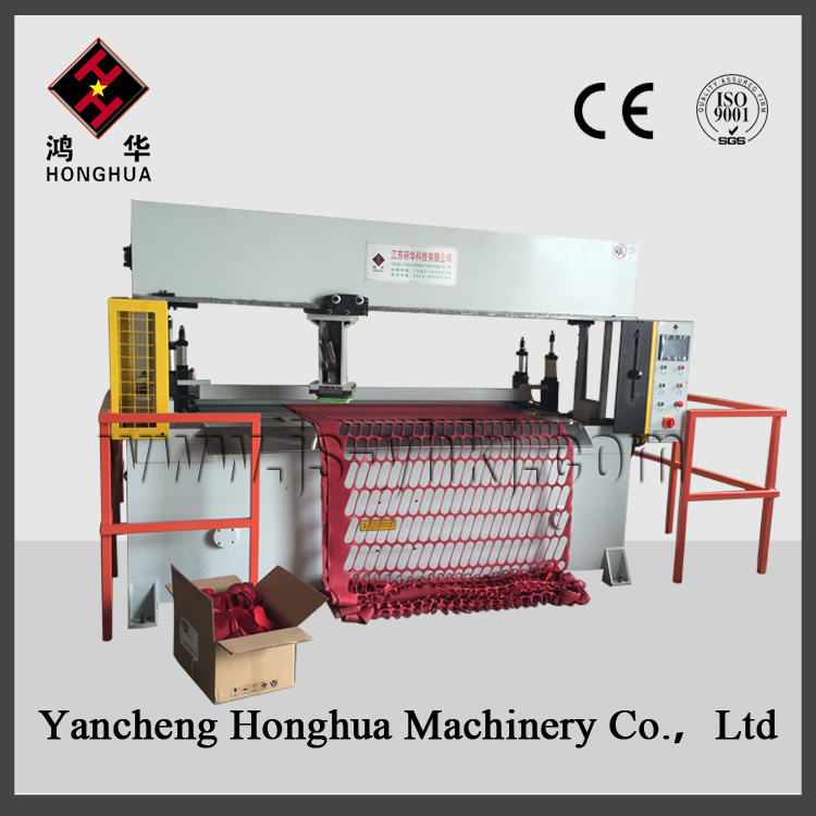 travelling head cutting machine for fabric